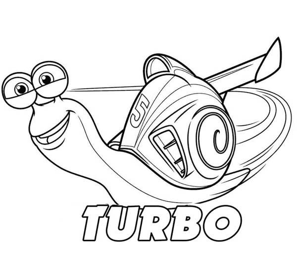 Pin by Tippa Midik on Turbo Snails | Coloring pages ...