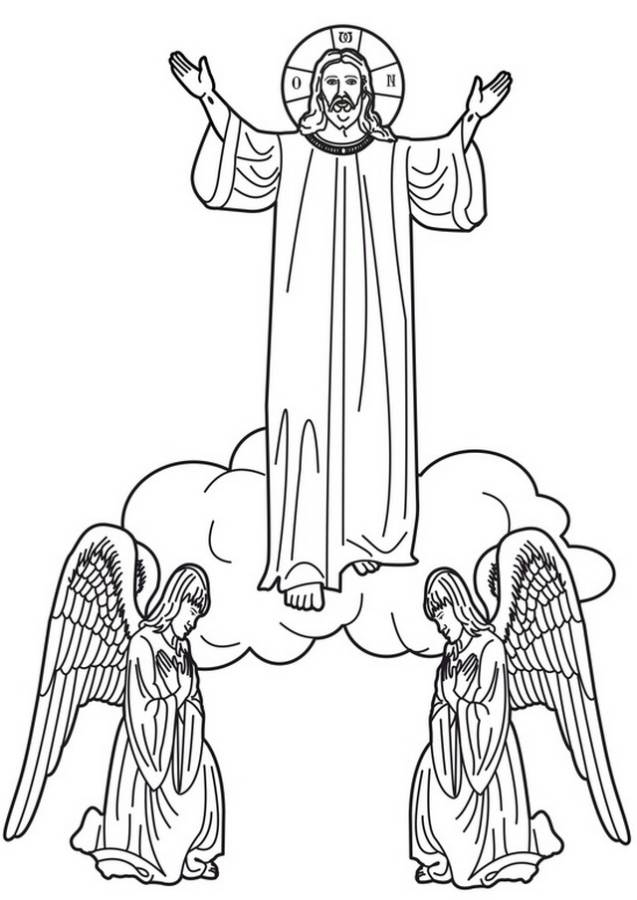 Jesus Christ Coloring Pages - Coloring Home
