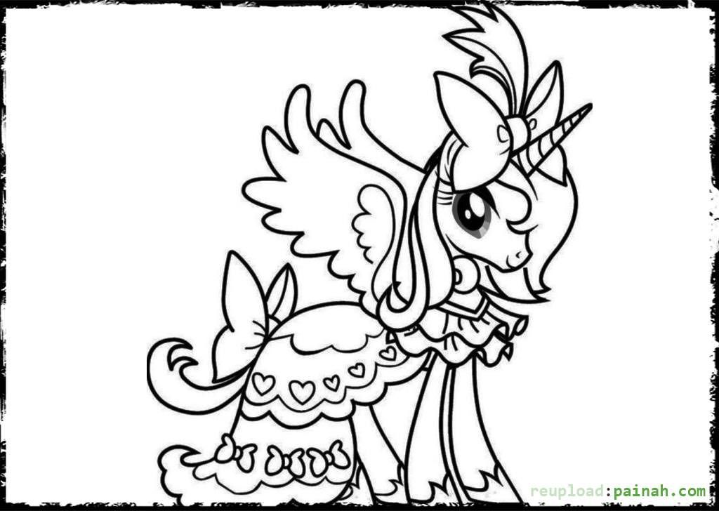 Coloring Pages Of A Unicorn - Coloring Home