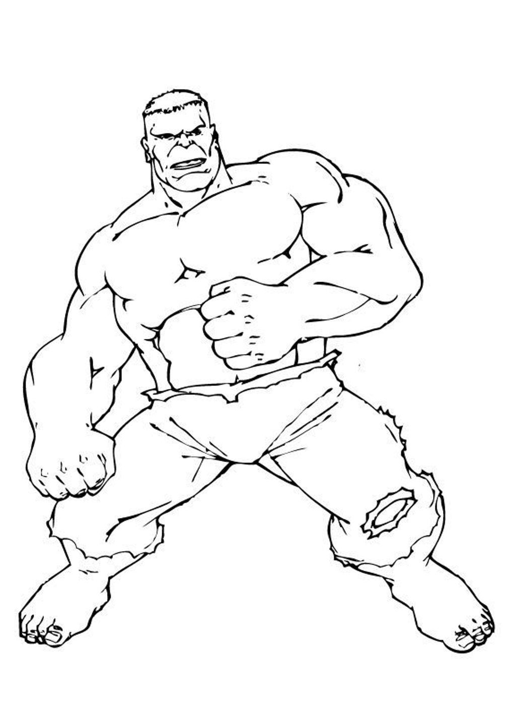 Superhero Coloring Pages For Preschoolers - Coloring Pages