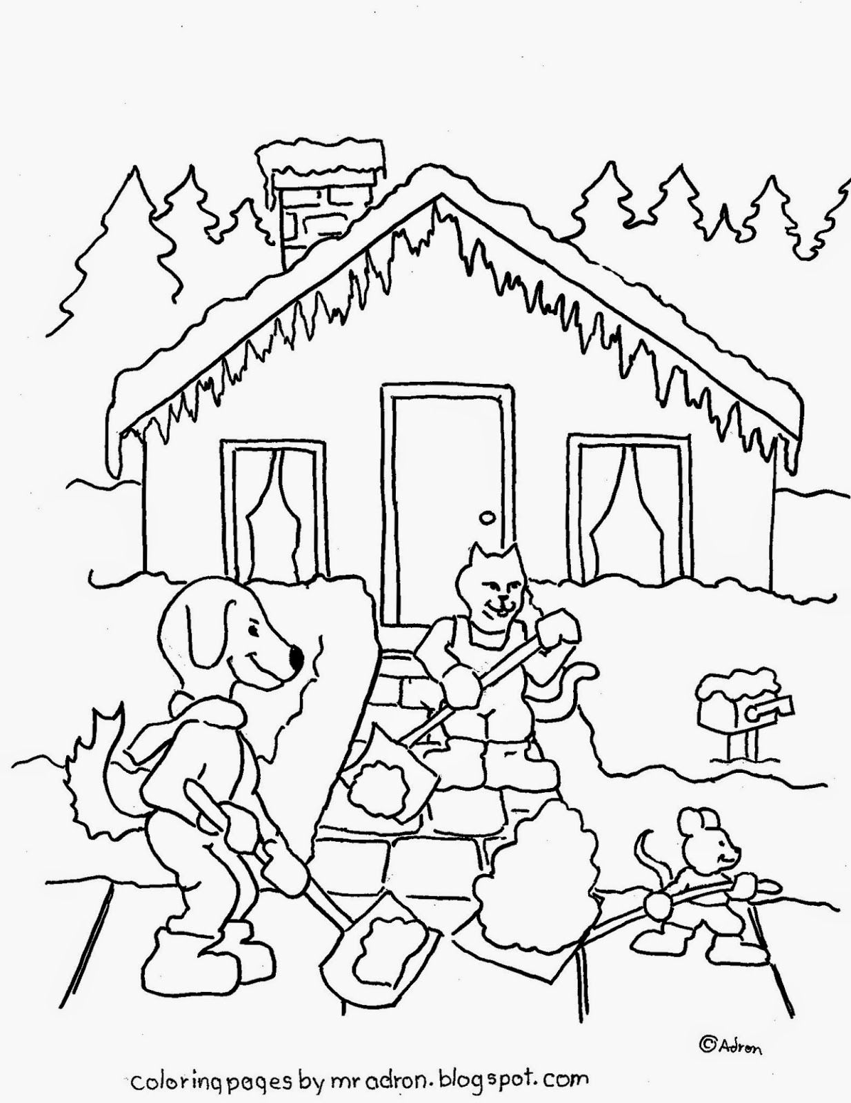 free cooperation coloring pages - photo#12