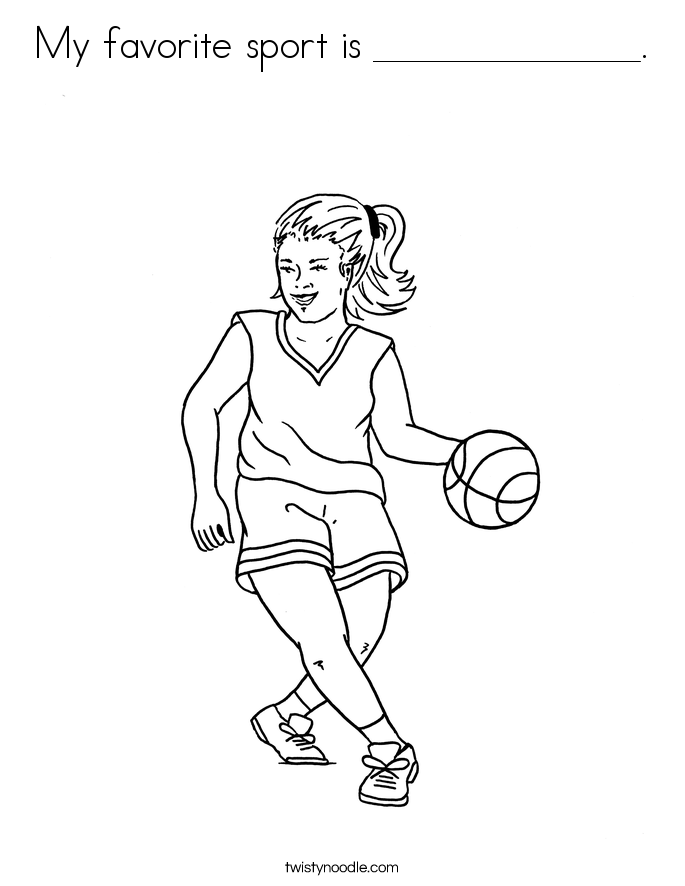 Sports Jersey Coloring Page Coloring