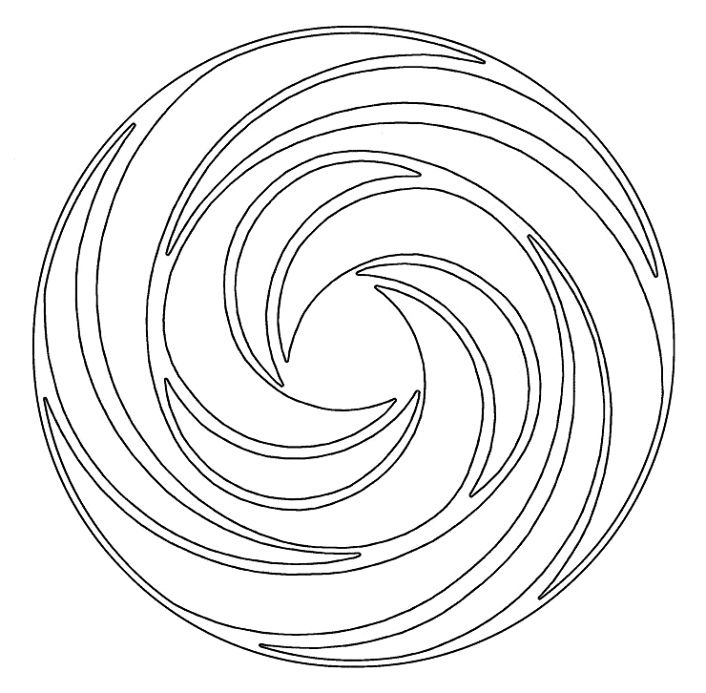 Swirl Coloring Pages Coloring Home Swirls Coloring Pages