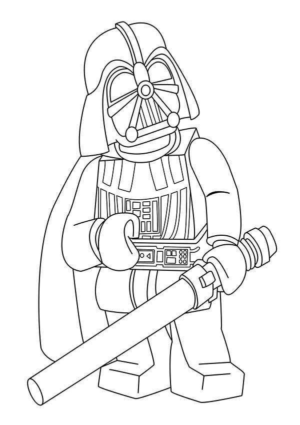 20 Darth Vader Coloring Pages - ColoringStar