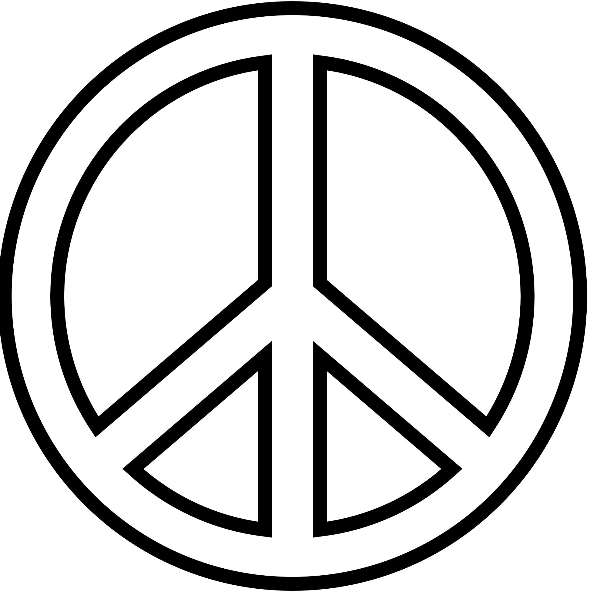 Free Printable Peace Sign Coloring Pages Click The Peace Sign Coloring Home