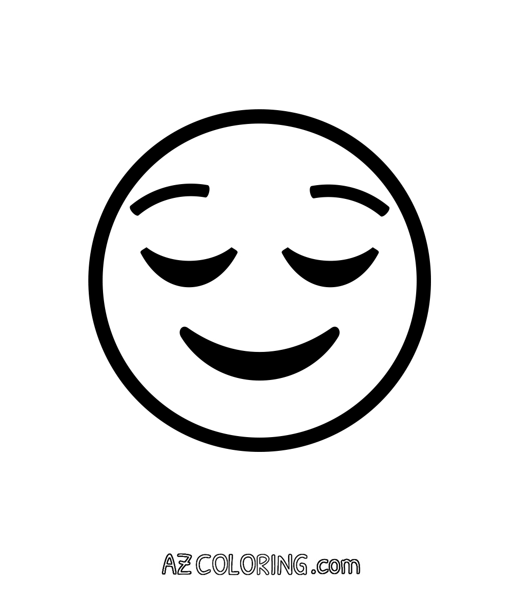 Free coloring pages emojis