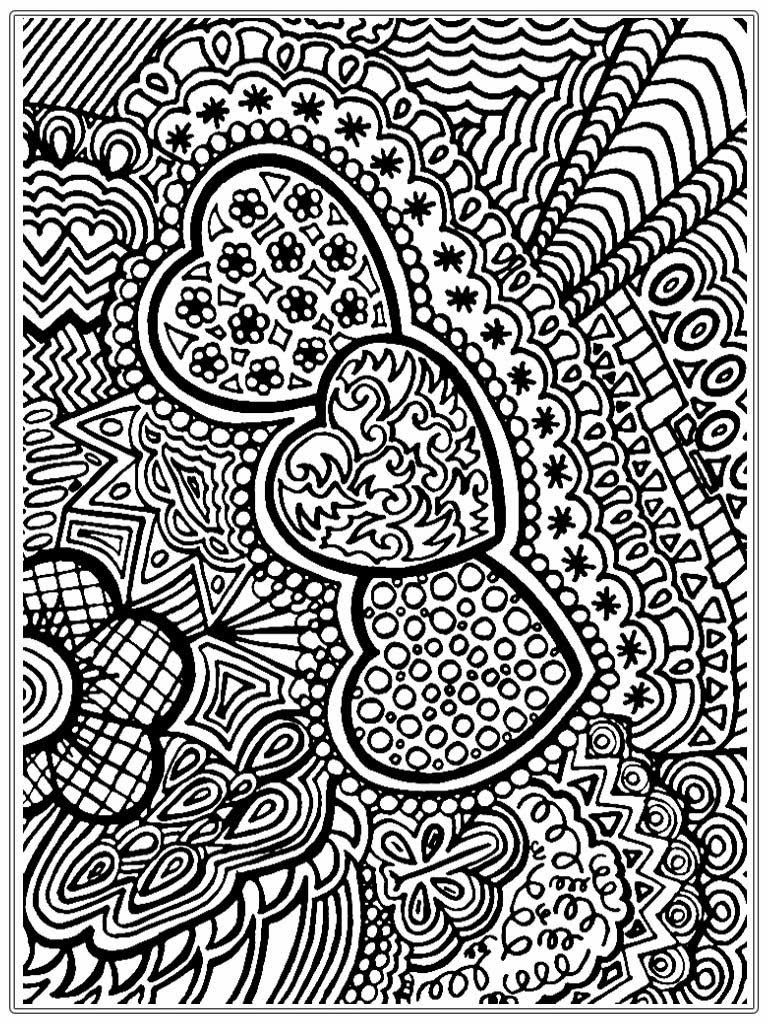 Free printable coloring pages for grown ups - Free Printable Adult Coloring Pages Unique Abstract Image 20
