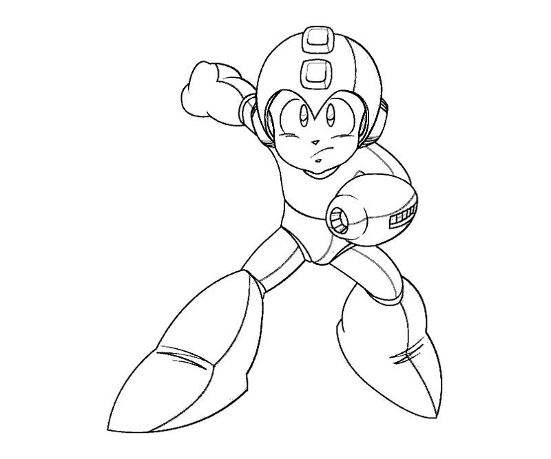 Megaman coloring pages ~ Mega-man Printable Coloring Pages - Coloring Home