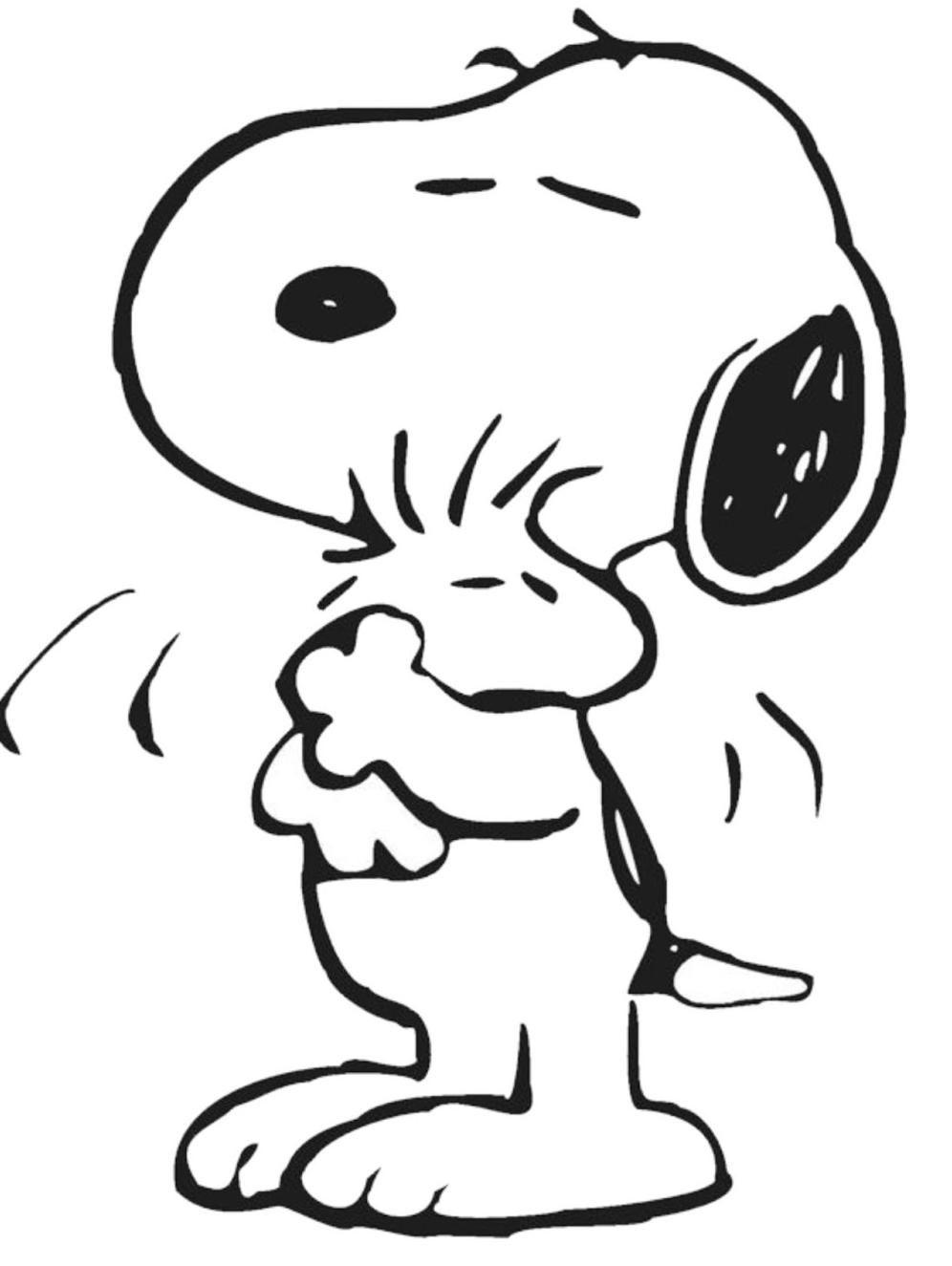 Image   Hugging Love.jpg   Peanuts Wiki   Wikia   Coloring Home