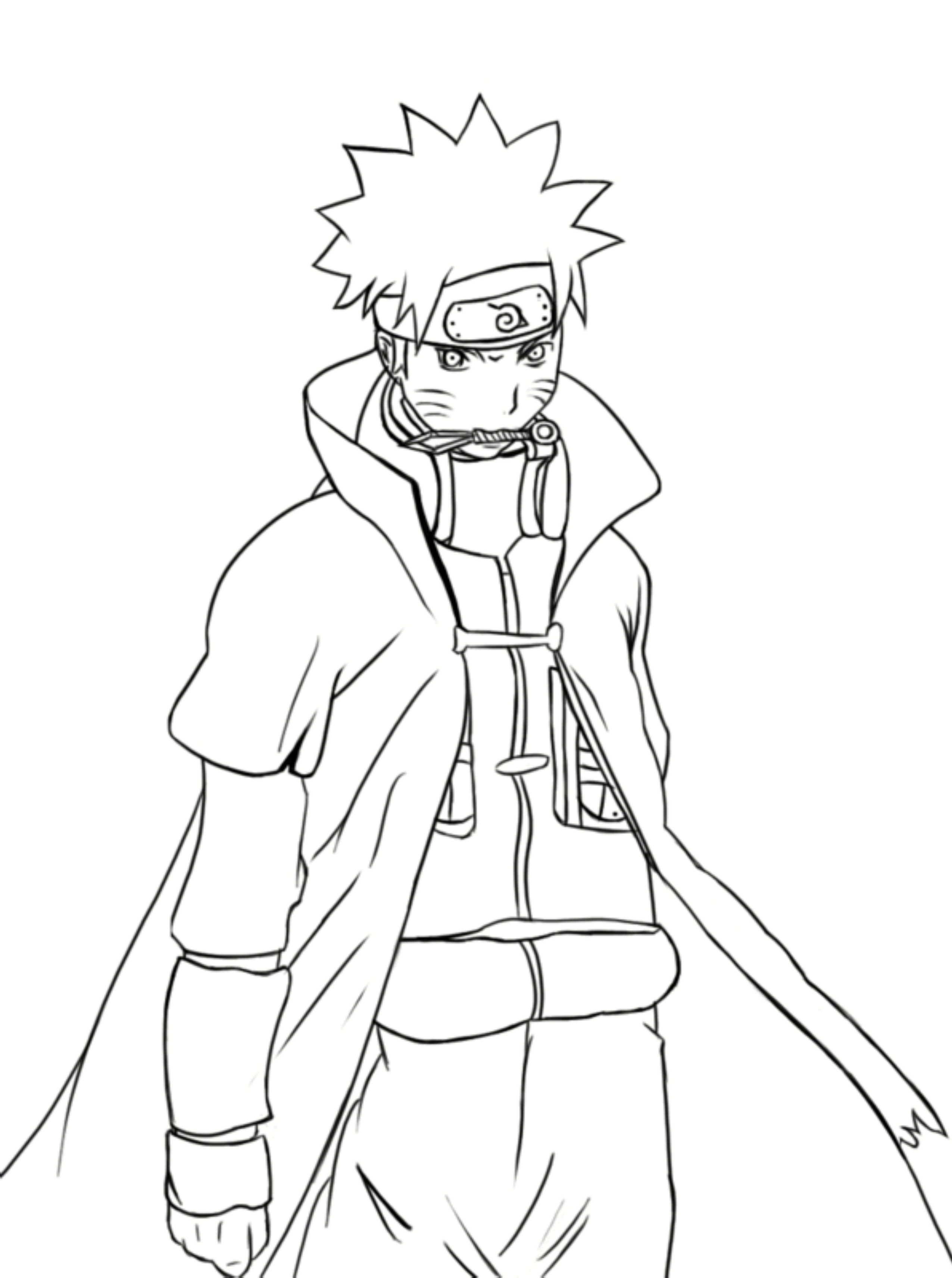 Coloring Pages Of Naruto Shippuden Characters - Printable ...