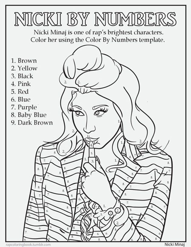rap coloring book shows hip hop stars having fun