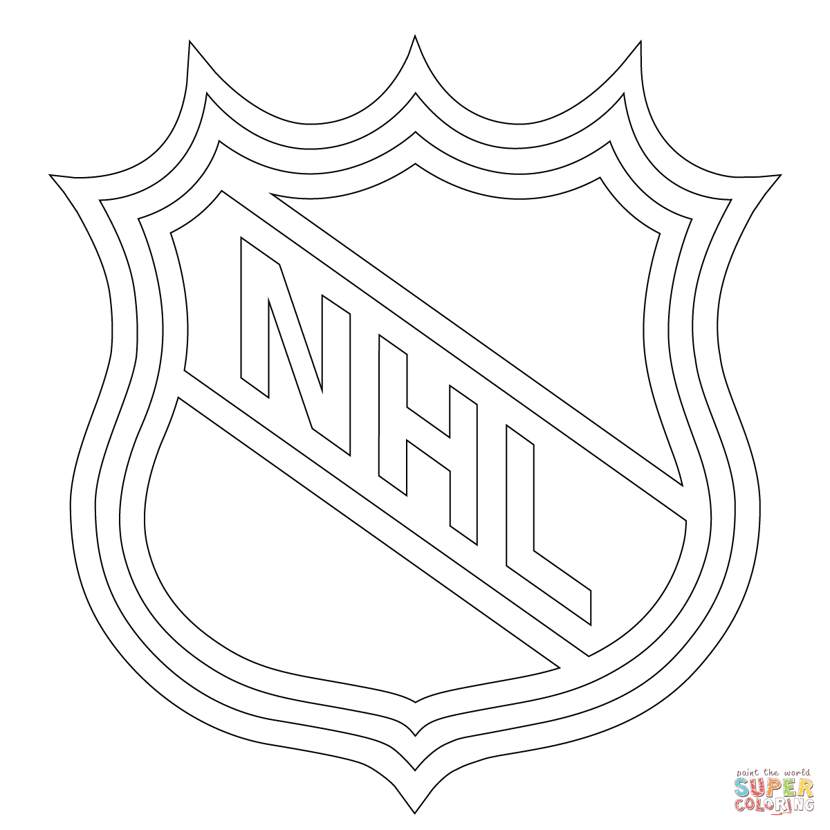 Chicago Blackhawks Coloring Page Coloring Home Chicago Blackhawks Coloring Pages