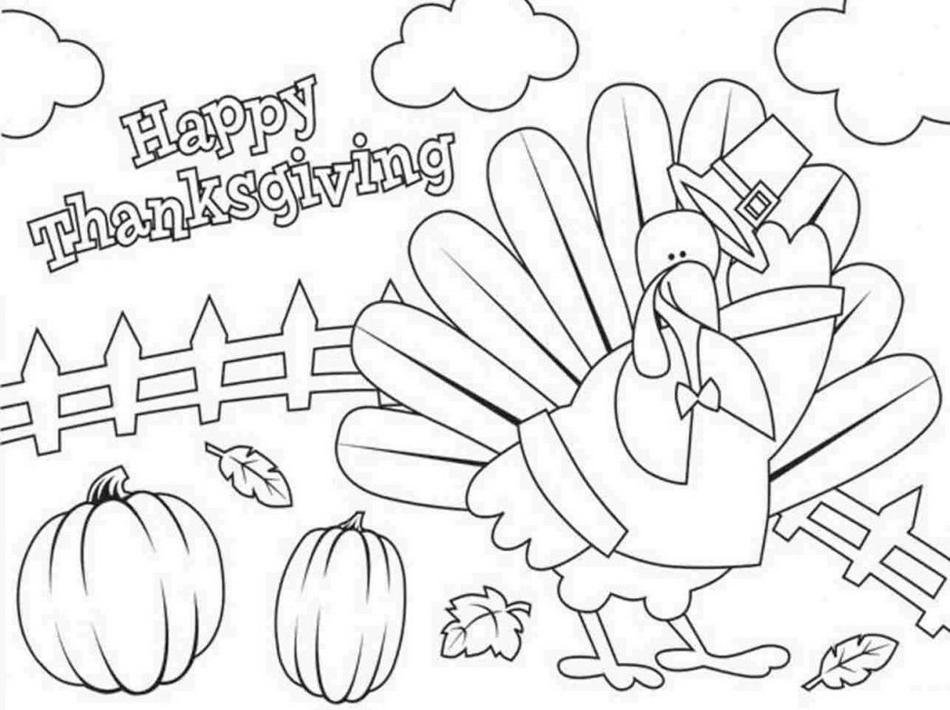 disney thanksgiving coloring pages printable - photo#19