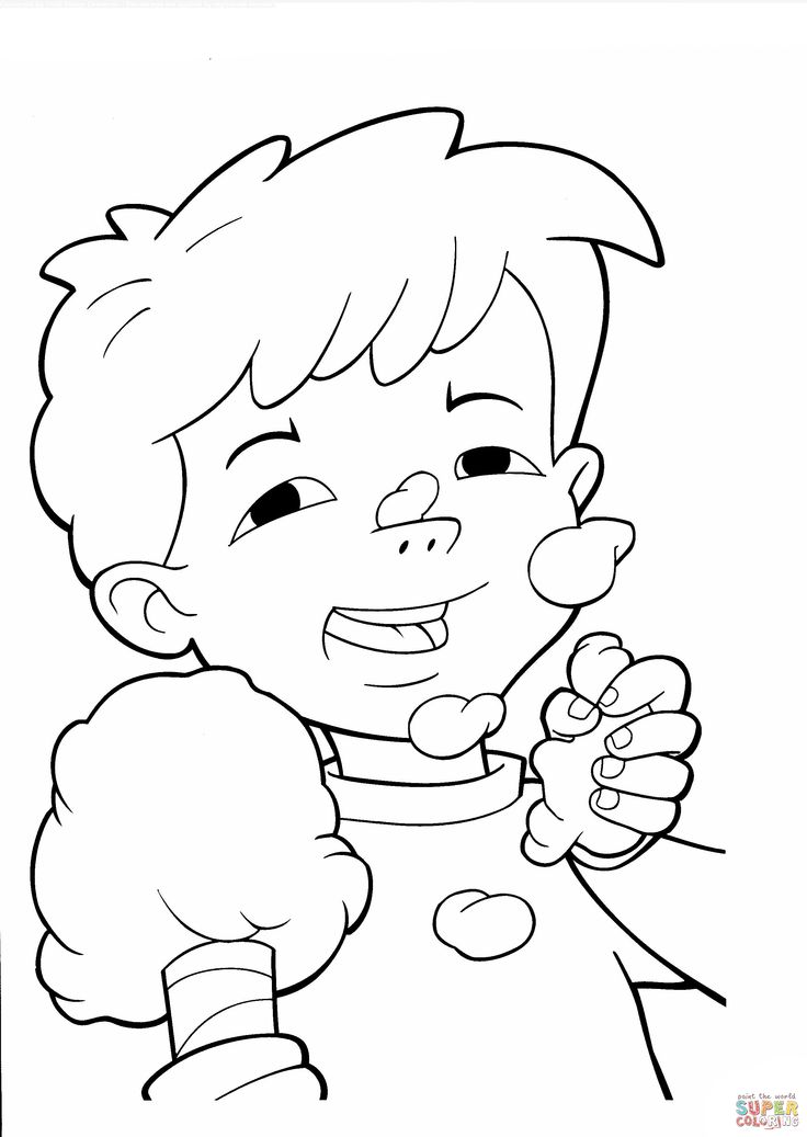 Cotton Candy Coloring Page Az Coloring Pages Cotton Coloring Sheet