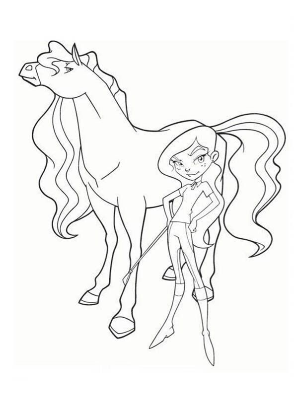 Horseland alma coloring pages az coloring pages for Coloring pages horseland