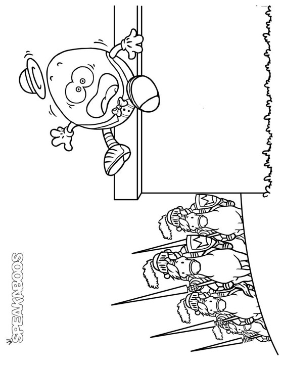 Humpty Dumpty Coloring Pages - AZ Coloring Pages