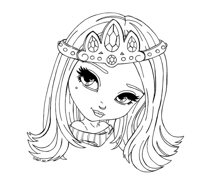 coloring pages barbie tiara - photo#27