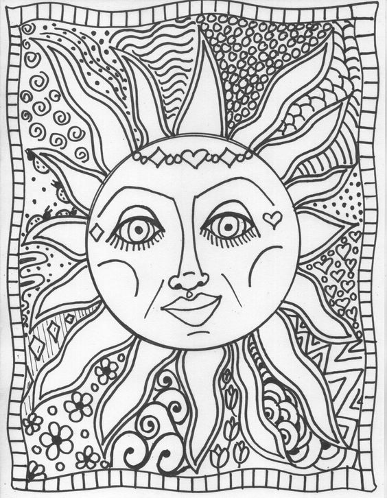 coloring book pages…design your own coloring book | Coloring ...