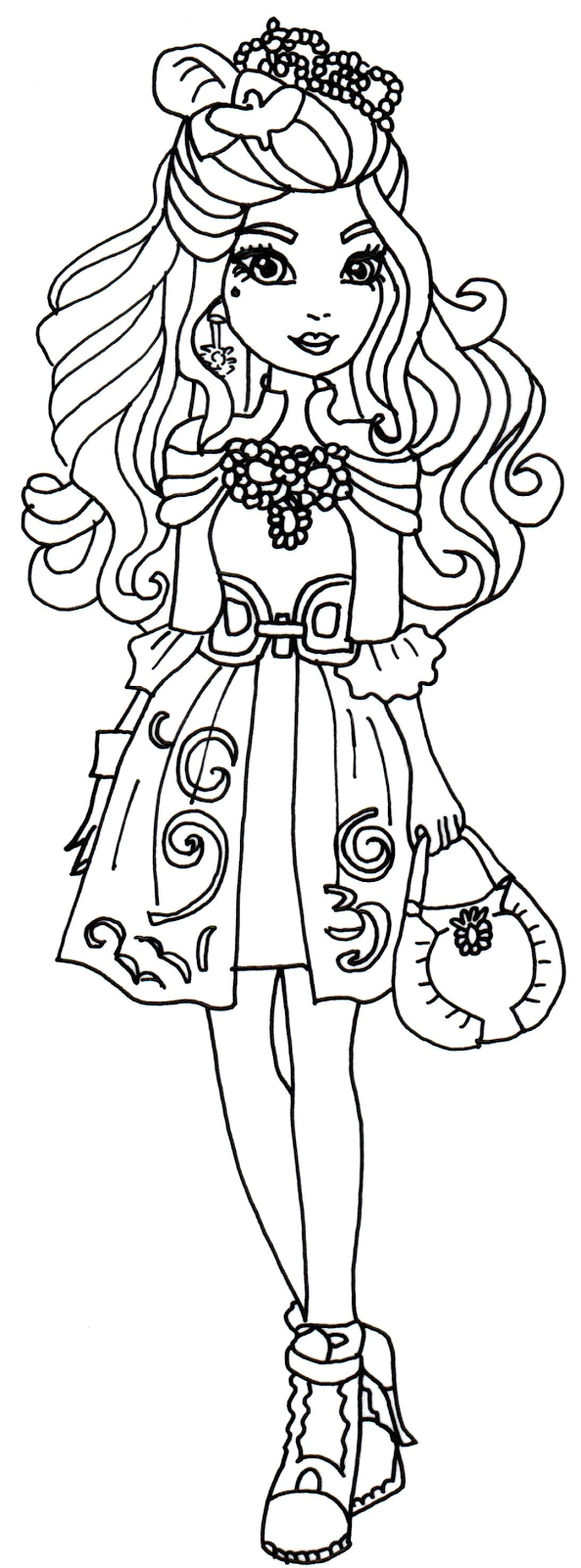 Ever After High Coloring Pages Coloring Home High Coloring Pages Print