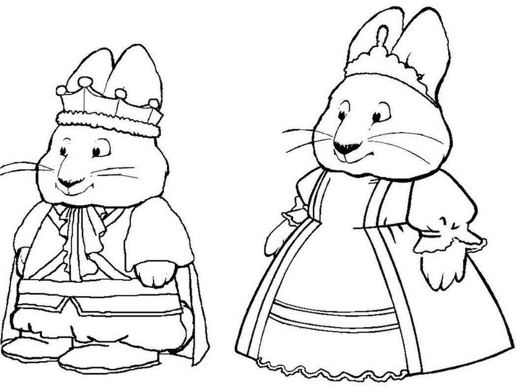 max and rubi coloring pages - photo#20