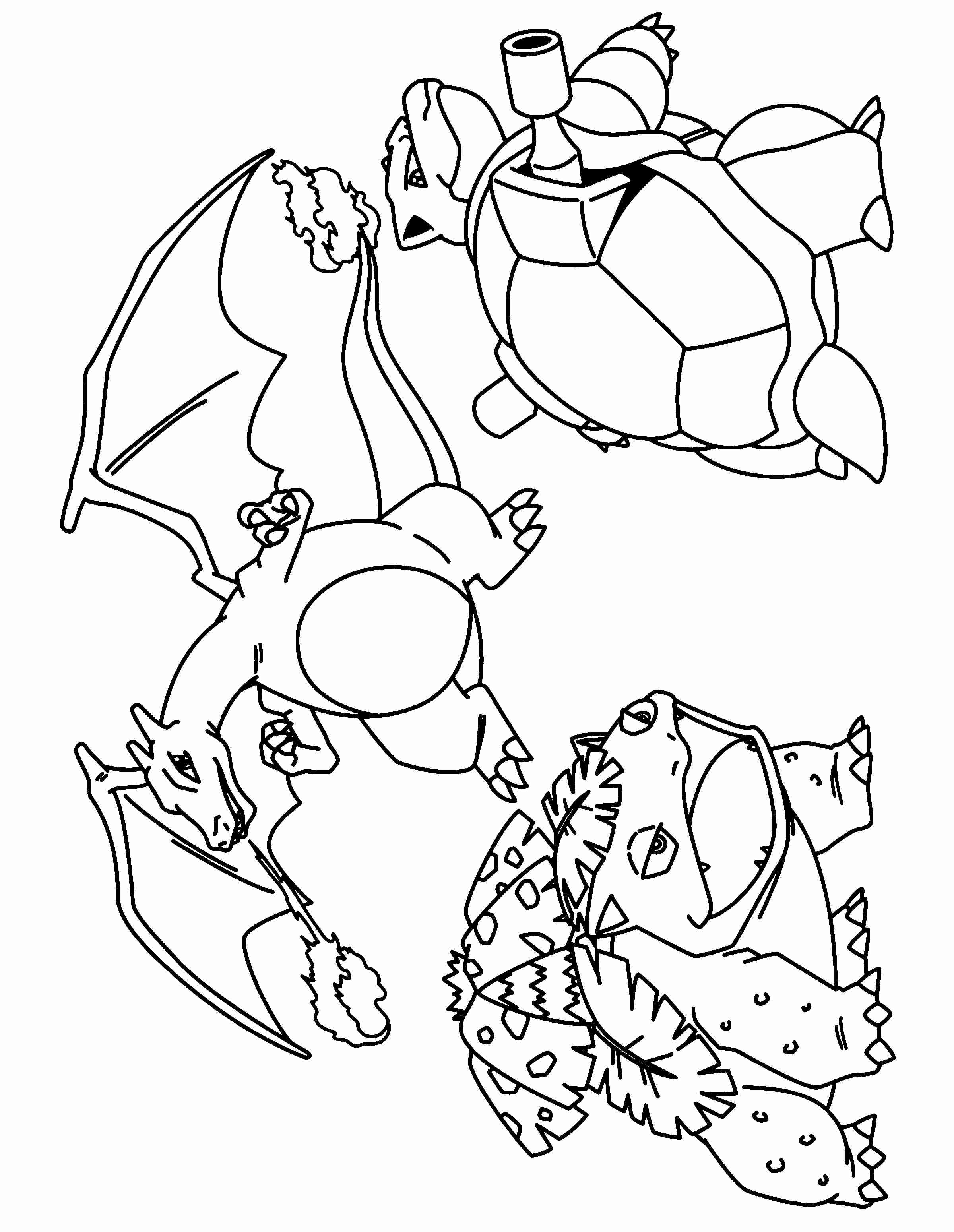 Bulbasaur Line Coloring Page by MadhuVati on DeviantArt | 3100x2400