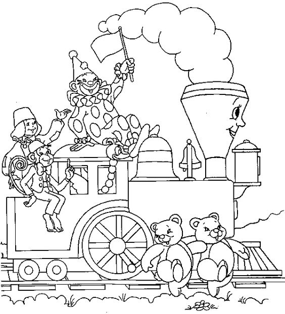 Little Engine That Could Coloring Pages Coloring Home Engine Coloring Pages