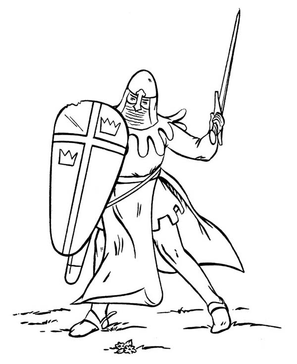 Awesome Armor of God for Battlefield Coloring Page: Awesome Armor ...
