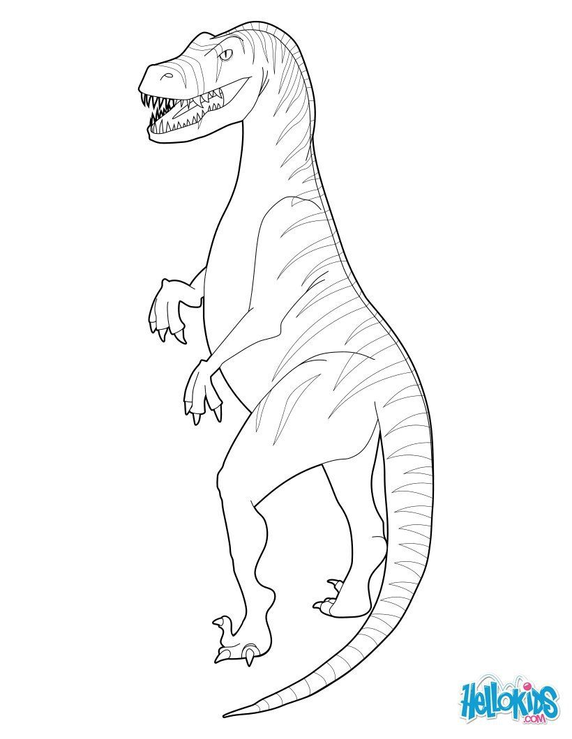 Jurassic World Velociraptor Coloring Pages. Raptor Coloring Pages ...