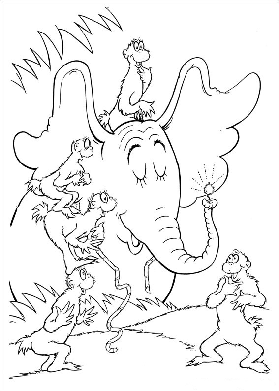 Free Coloring Pages Of Dr. Seuss Books - Coloring Home
