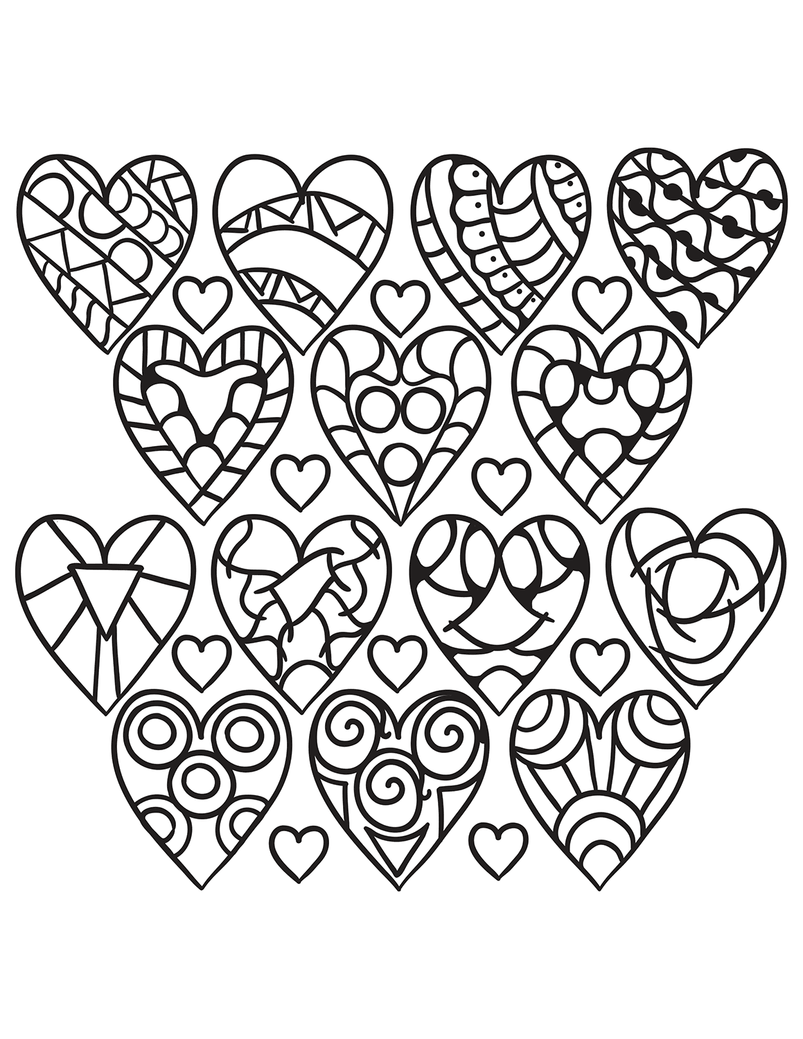 Coloring Pages : Heart Coloring Pages For Adults Image Ideas ...