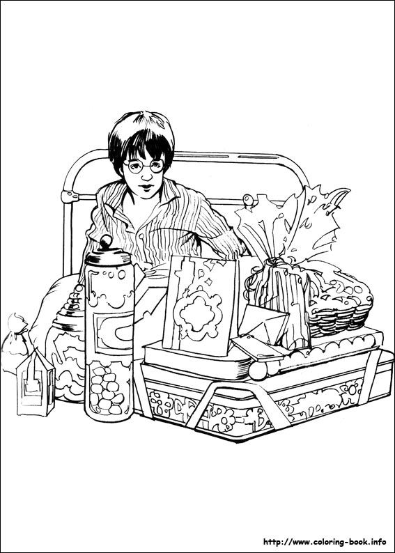 Harry Potter Coloring Pages On Coloring Book Info Coloring Home