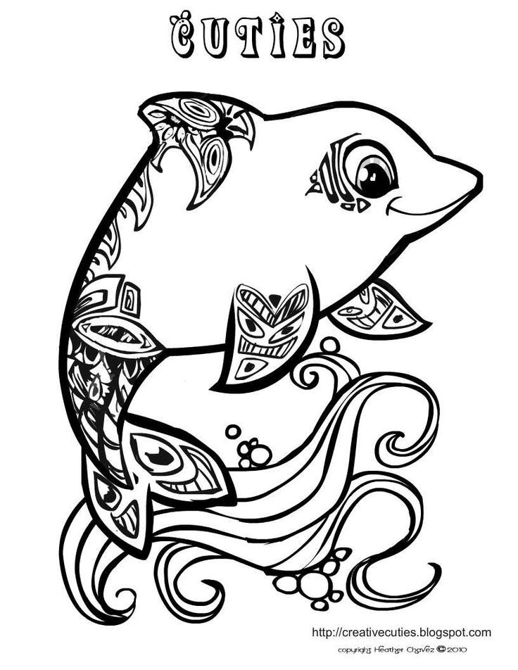 Cuties Coloring Pages Printable Coloring Home