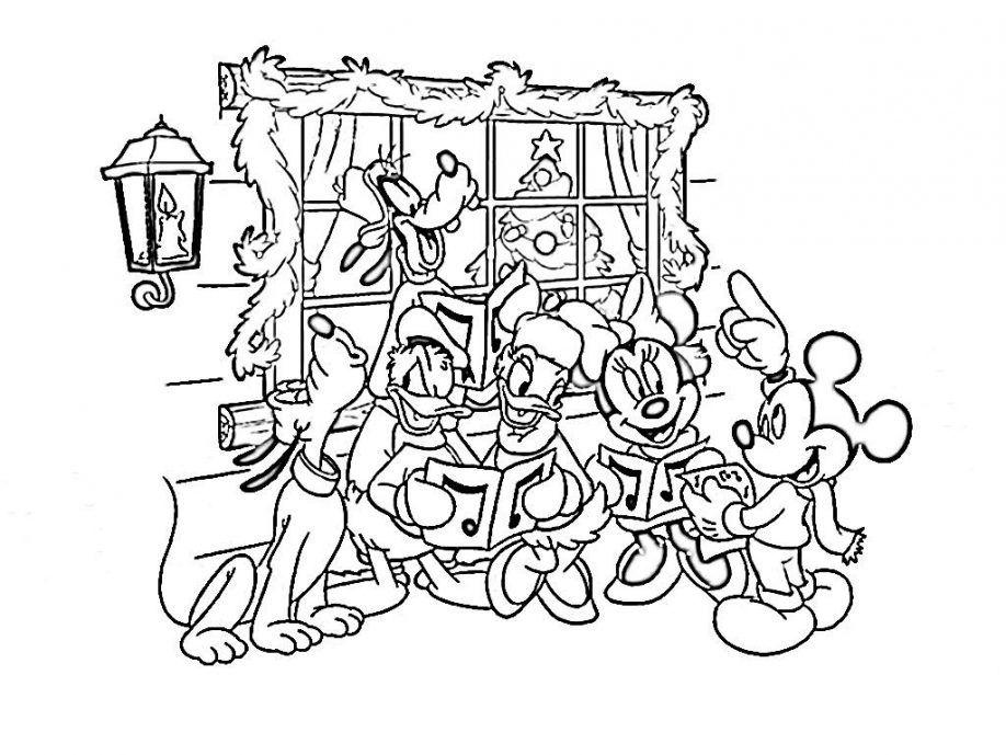 Disney World Castle Coloring Page
