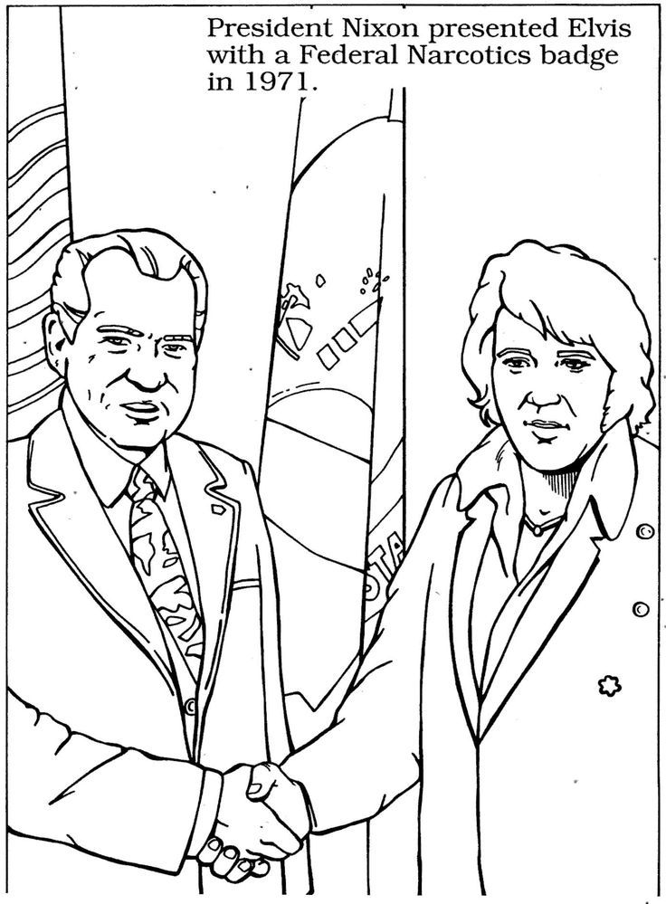 Elvis coloring pages... | Coloring Pages, Elvis ...