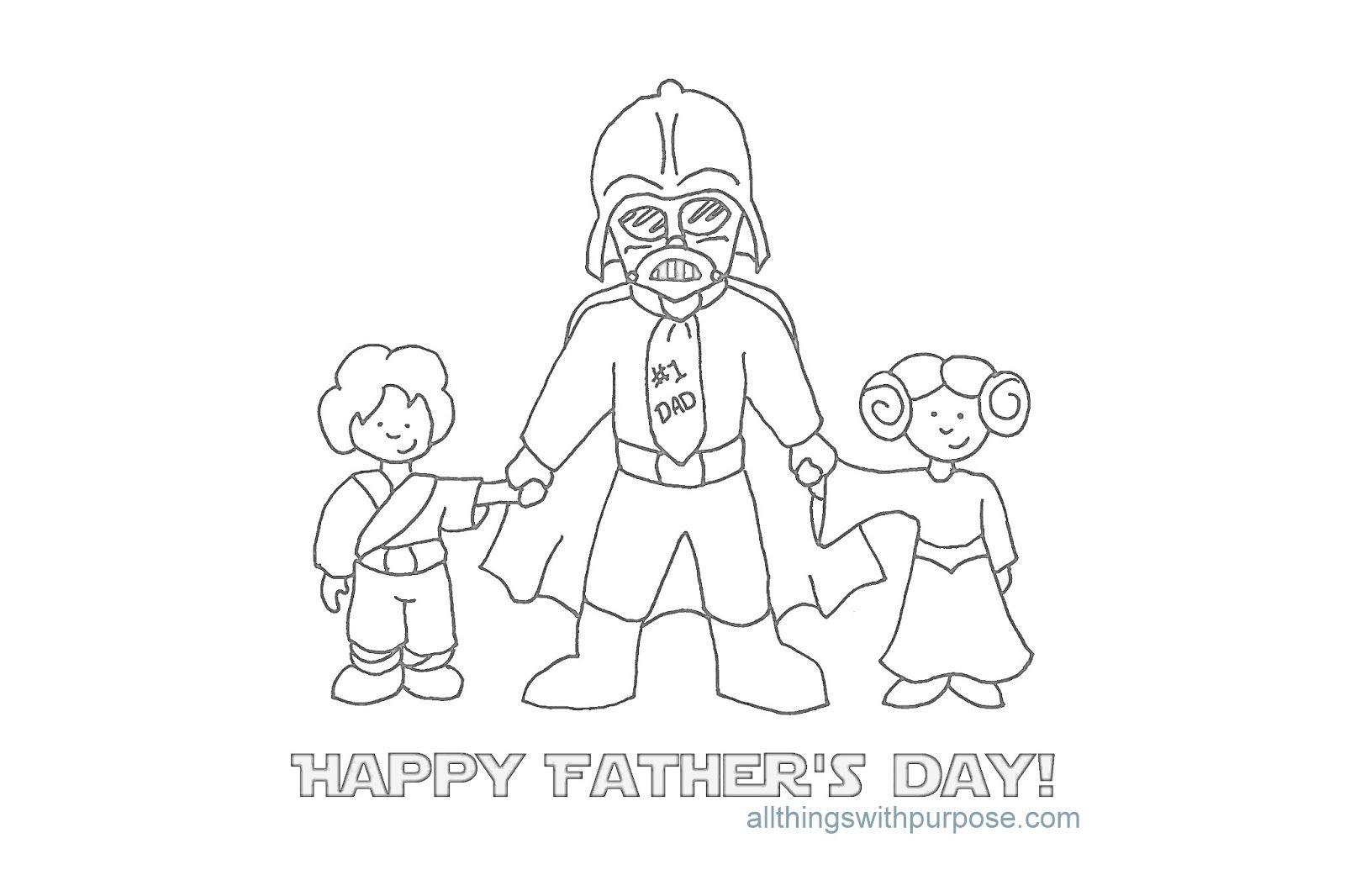 Birthday Coloring Pages For Daddy - Coloring Home