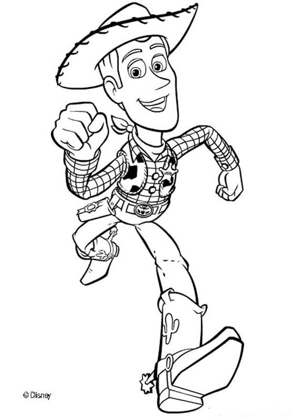 Toy Story Coloring Book Pages - Toy Story 4 - Coloring Home