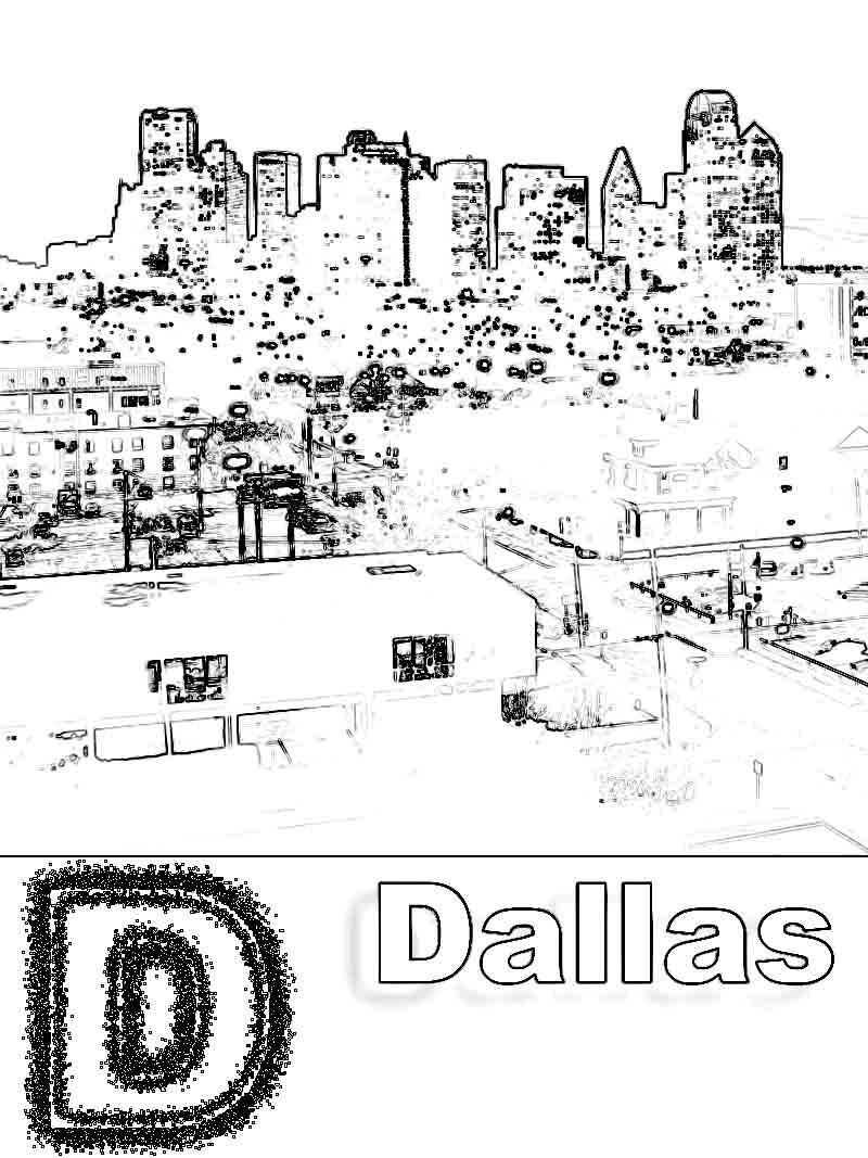Dallas Cowboys Coloring Page Coloring Home