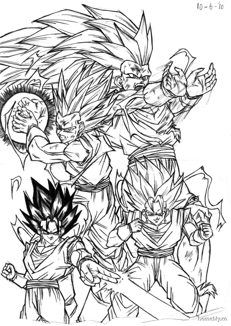 Dragon ball z coloring pages gohan coloring home for Dbz coloring pages