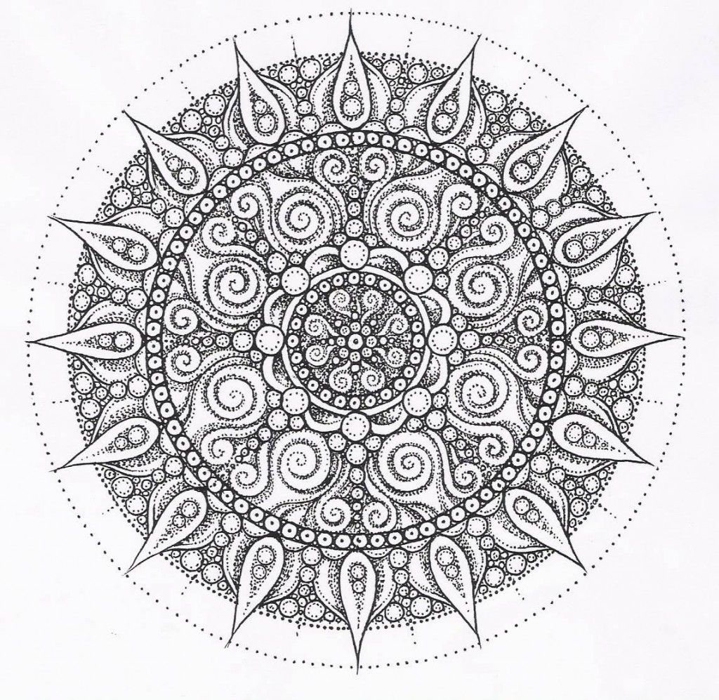 Intricate Coloring Pages Free Printable - Coloring Home
