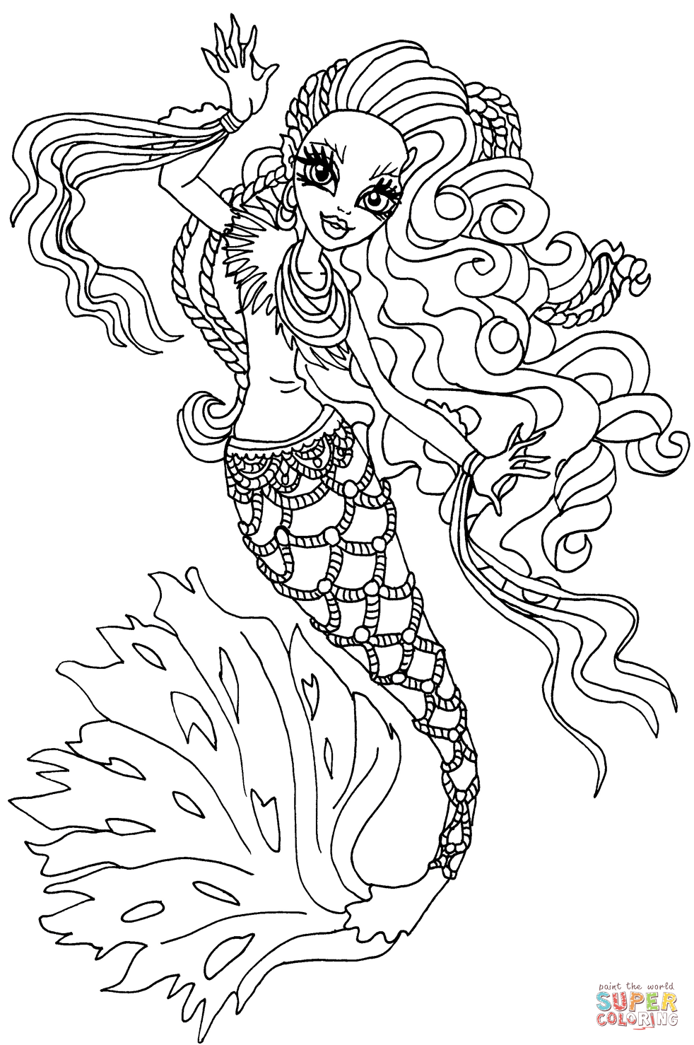 Monster Boo Coloring Pages - Coloring Home