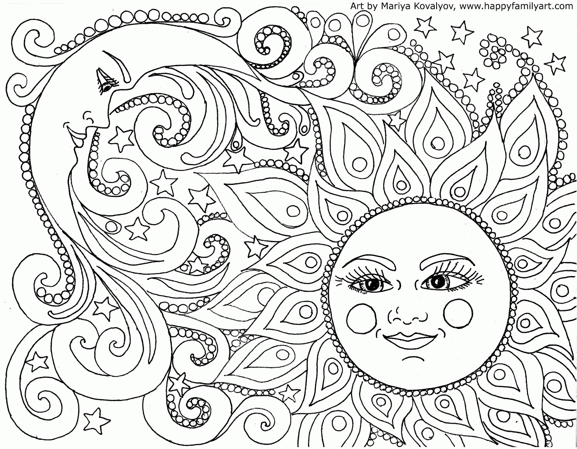 Coloring Pages Coloring Nature Mandalas Fun Time Simple For Coloring Home