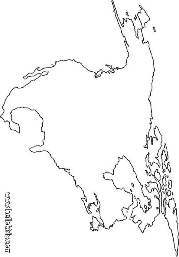 8 Pics Of North America Map Coloring Page