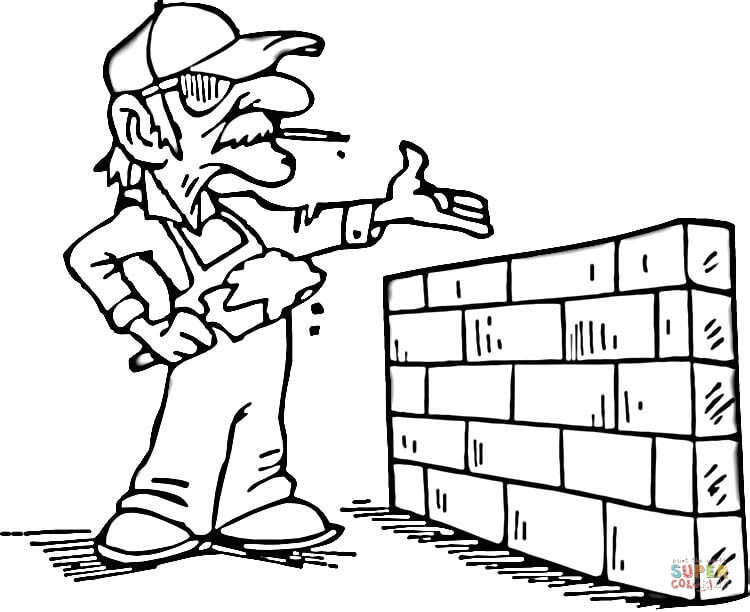 norcor brick coloring book pages - photo#22