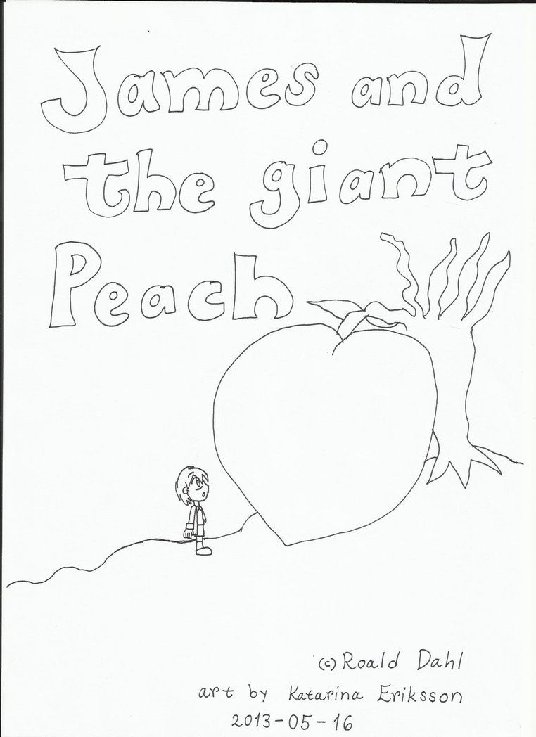 James And The Giant Peach Coloring Pages Coloring Home