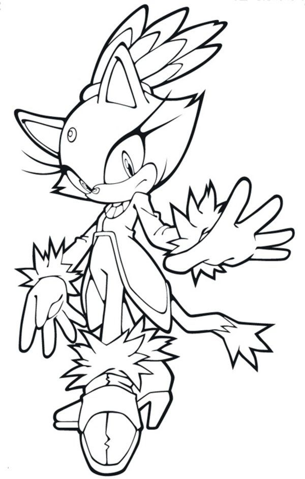 Blaze the cat coloring pages coloring home for Printable blaze coloring pages
