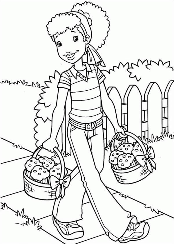 holly hobbie coloring pages - photo#18