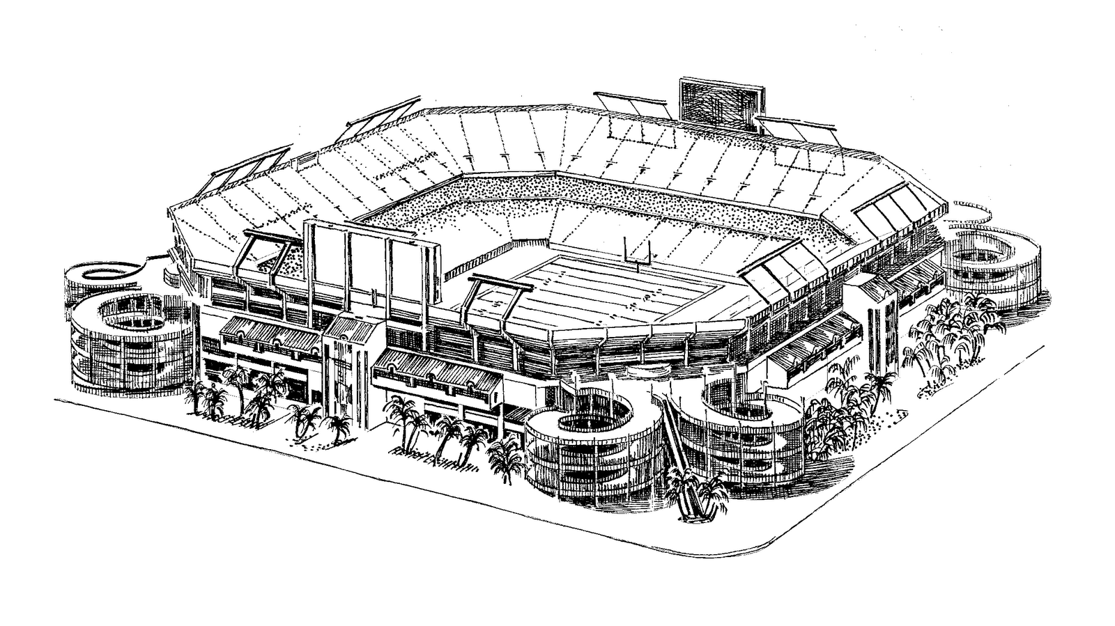 Coloring Pages Stadium Coloring Home
