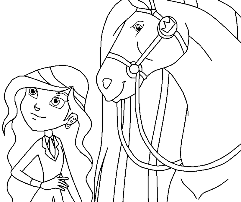 Horseland Printable Coloring PagesPrintablePrintable Coloring