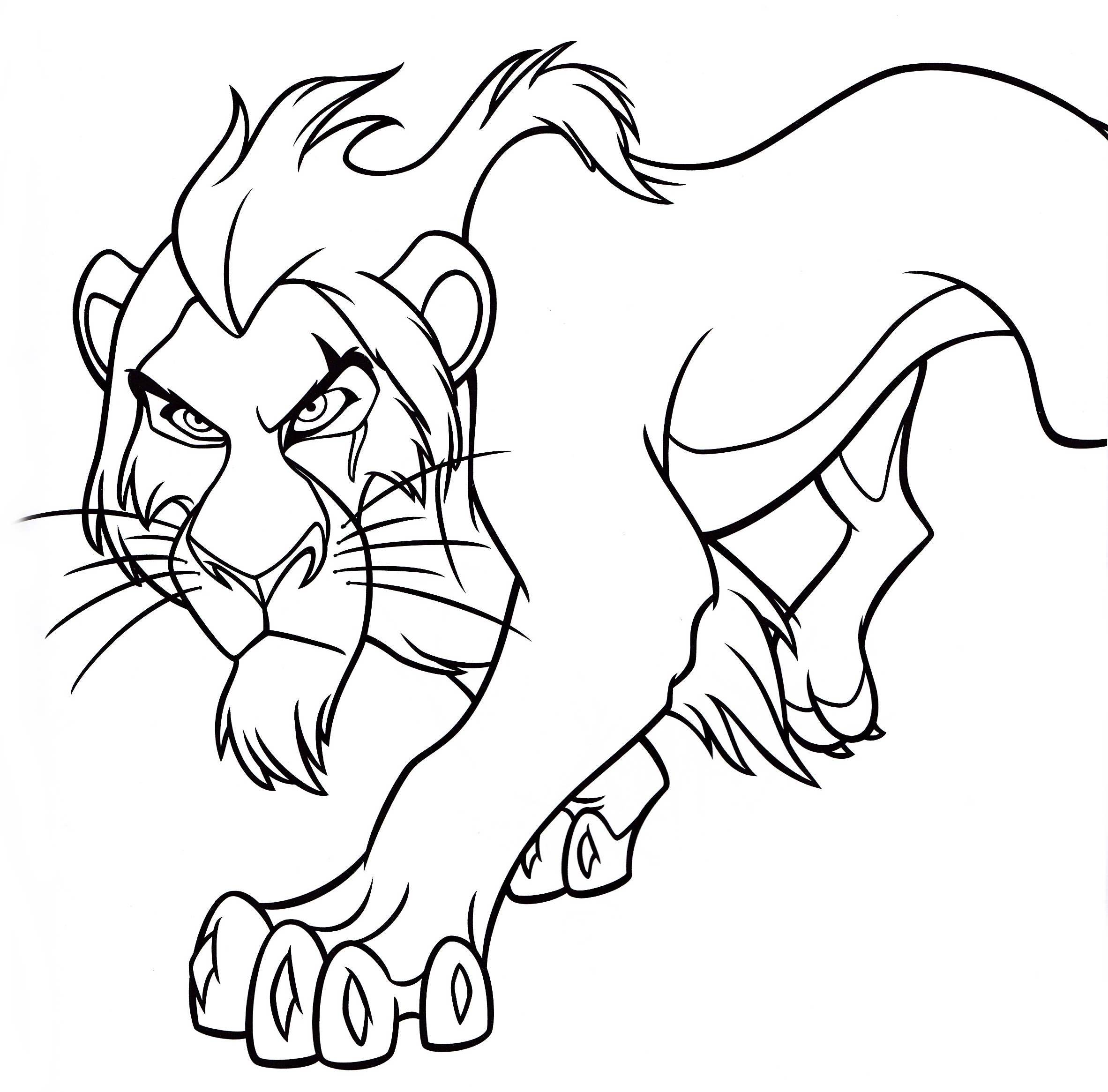 Scar Coloring Pages Coloring Home