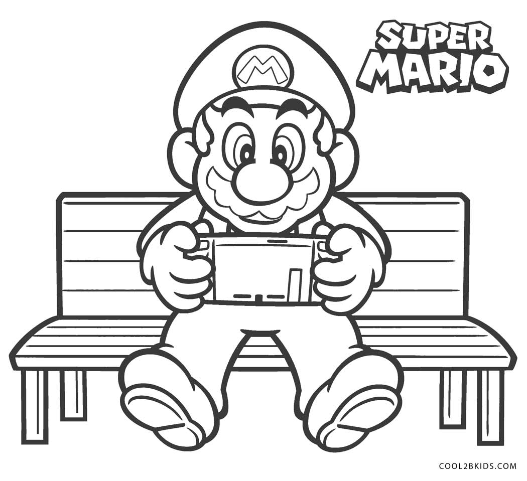Super Mario Odyssey Coloring Pages Coloring Home